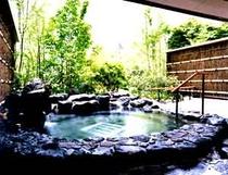 客室[名月]露天風呂