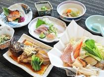 【夕食スタンダード一例】海鮮三昧の和会席★