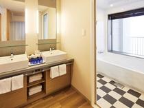 【エミオンスクエア】スクエアコーナーフォースルームのバスルーム