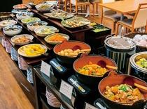 朝食ブッフェボード(和食)