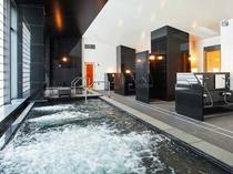【エミオンスクエア】天然温泉付き大浴場「ほほえみの湯」内湯