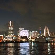 当館から徒歩10分◆大桟橋からのみなとみらい◆