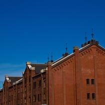 当館から徒歩20分◆赤レンガ倉庫◆