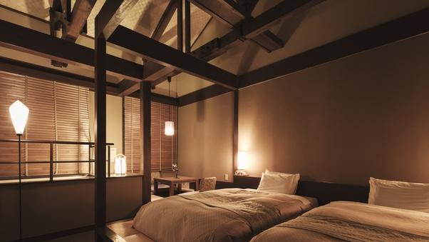 【離庵山水】露天風呂付き客室メゾネット51平米以上<禁煙>