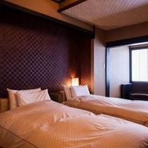 【ベッド付き和風客室〜葵〜】