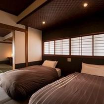 【ベッド付き和風客室〜曙〜】