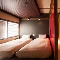 【ベッド付き和風客室〜楓〜】