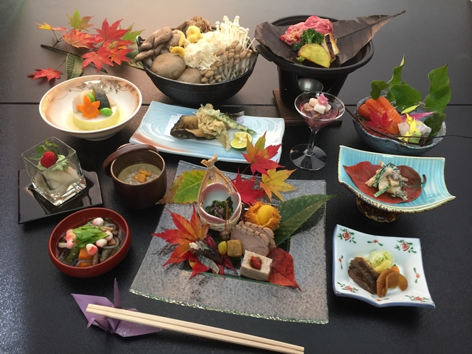 料理の一例(秋)