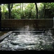 【露天風呂】切石露天でゆっくりと・・・