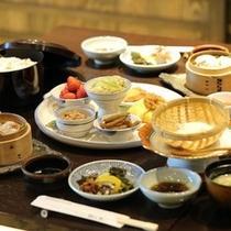 【朝食】美味しい朝ごはんが一日の活力に!