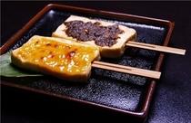 豆腐の田楽