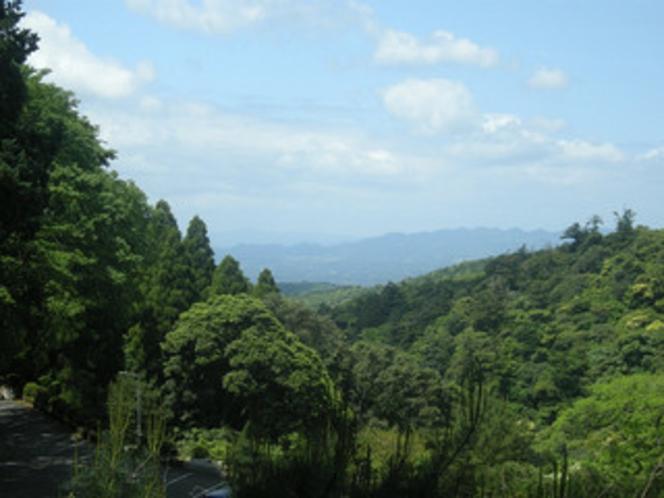 散策コースから見える景観
