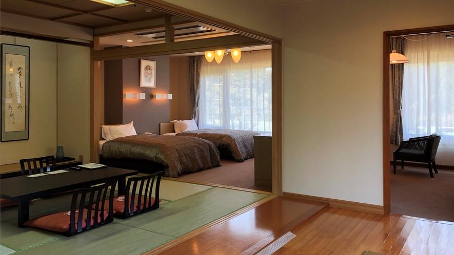 高千穂館和洋室コーナールームの一例(ワイド)