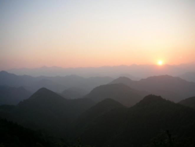 奥熊野の山々
