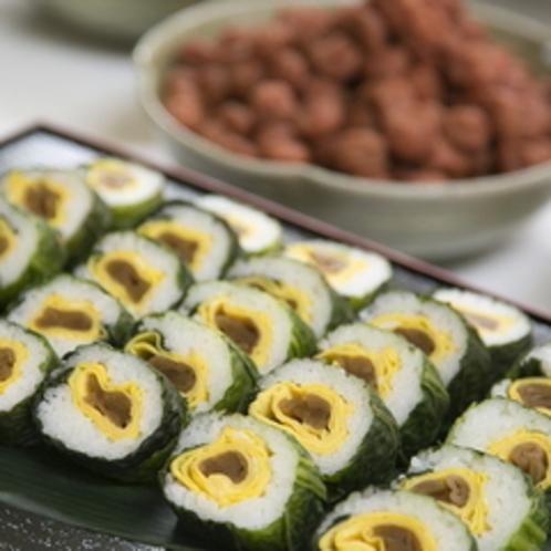 めはり寿司(夕食バイキング)