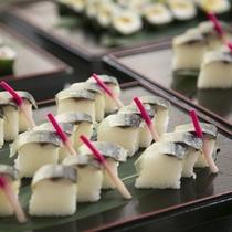 さんま寿司(夕食バイキング)