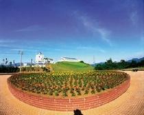 守門村自然科学館「星の家」 広場