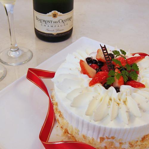 アニバーサリー〜大切な記念日〜ディナー&ケーキ付