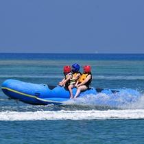 【ドラゴンボート】マリンジェットで引っ張るタイプの水上ロデオ