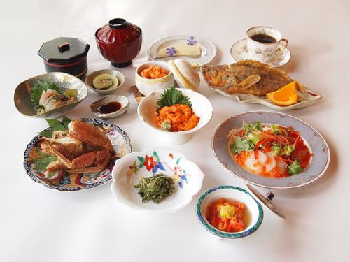 夕食のイメージ写真です。