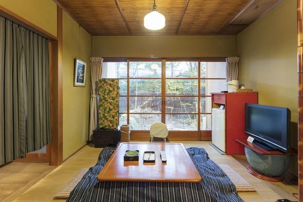 《1泊2食付・昭和亭》◆宝満会席◆特上月替わり会席。和室1間と昔ながらの掘りごたつのお部屋。