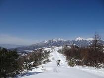 スノーシューハイキング(飯盛山)