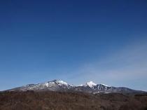 高原大橋から見る八ヶ岳