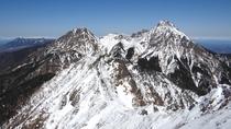 権現岳からの景色(冬)