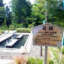 *【いもり池】池平温泉を引き湯にしている単純硫黄温泉です。