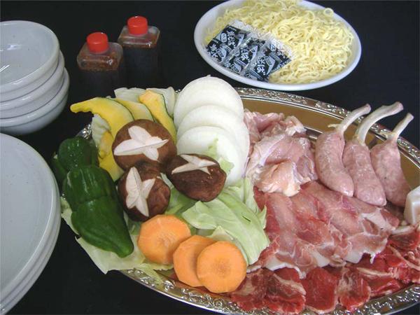 バーベキュー食材(3人前)