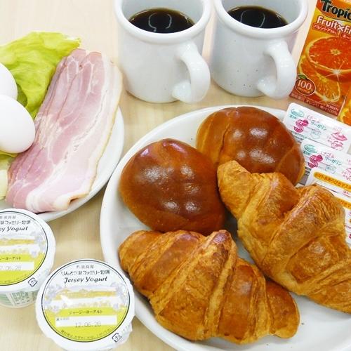 【朝食】朝からしっかりと♪