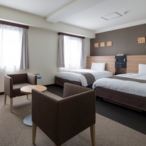 ◆ツインハイクラス◆ベッド幅122センチ◆広さ30平米◆