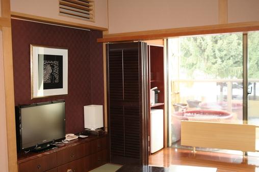 アルプス展望露天風呂付客室 和室10畳【禁煙】