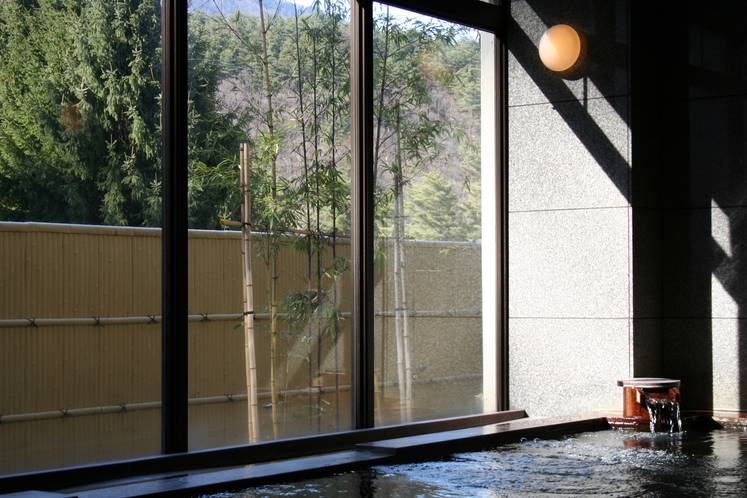 お泊りの方用の天然温泉