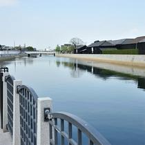 半田運河と蔵