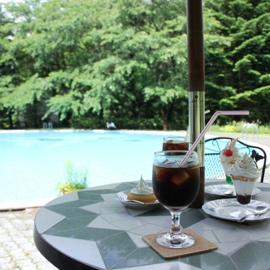 【昼のBBQ】昼食をバーベキュー<火おこし&道具貸出無料>北志賀高原のさわやかな空の下で…1泊3食付