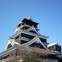 【熊本城】お車で約50分。