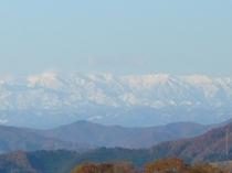 朝日連峰の新雪