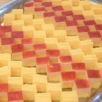 デザートのミニケーキ
