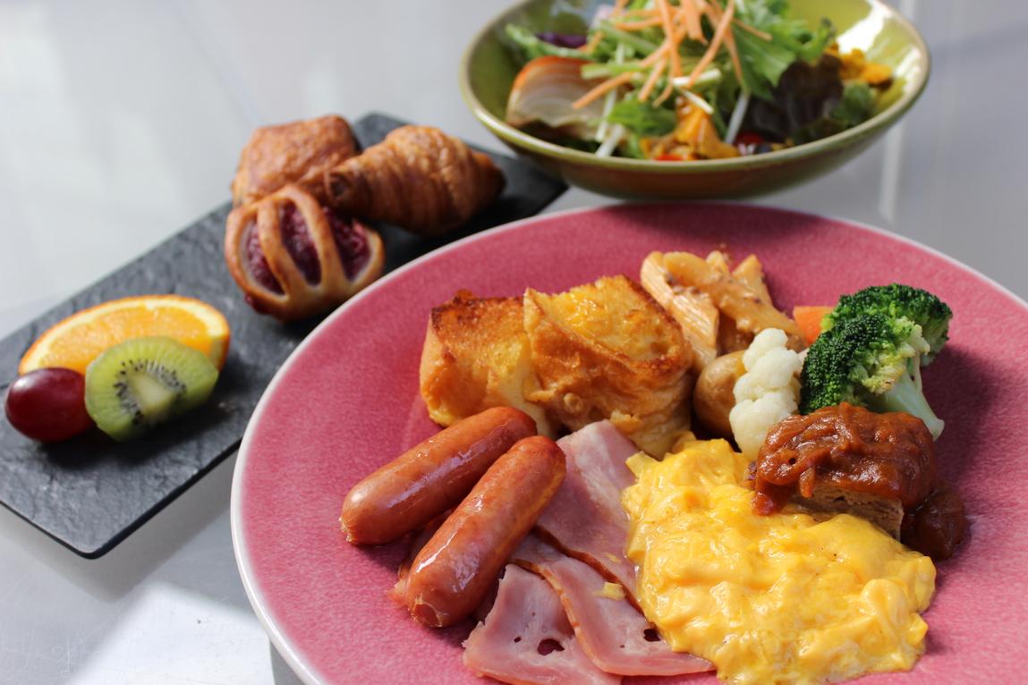 朝食:アメリカンブレックファスト(ワンプレート)