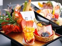 お正月のご夕食コース(一例)