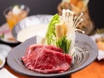 福島牛の豆乳鍋