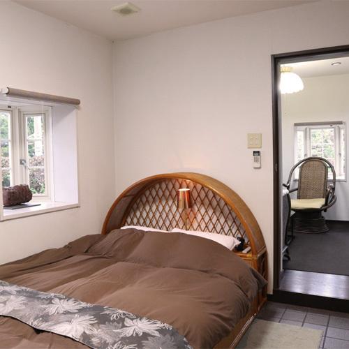 *ダブルルーム寝室/リゾートの雰囲気のお部屋でリラックス♪