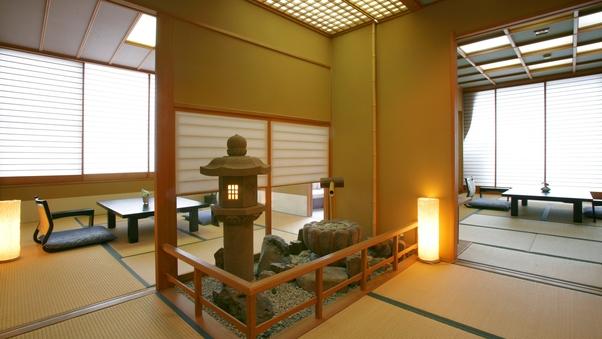 天然温泉の露天風呂付客室【特別室】10畳+8畳