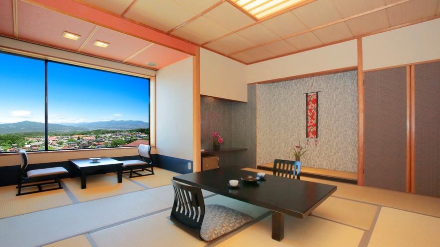 眺望和室(12畳)トイレ付き・風呂有り(赤城山)