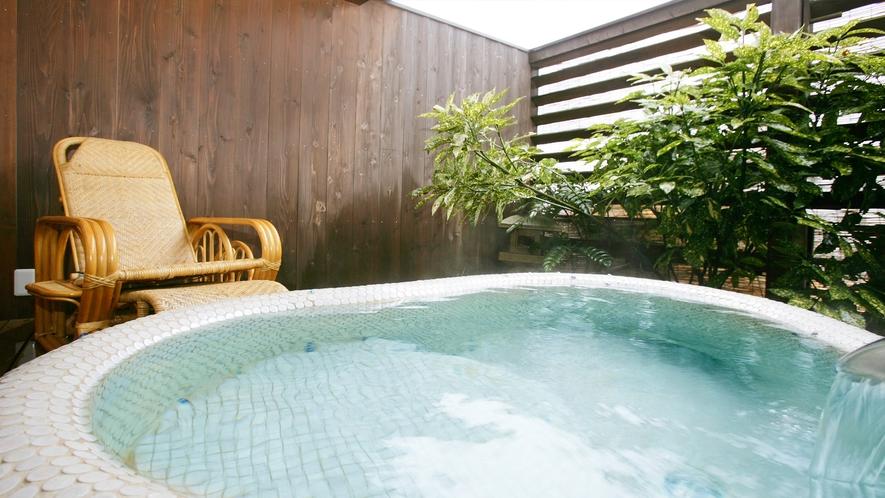 露天風呂付き客室 ~雪~