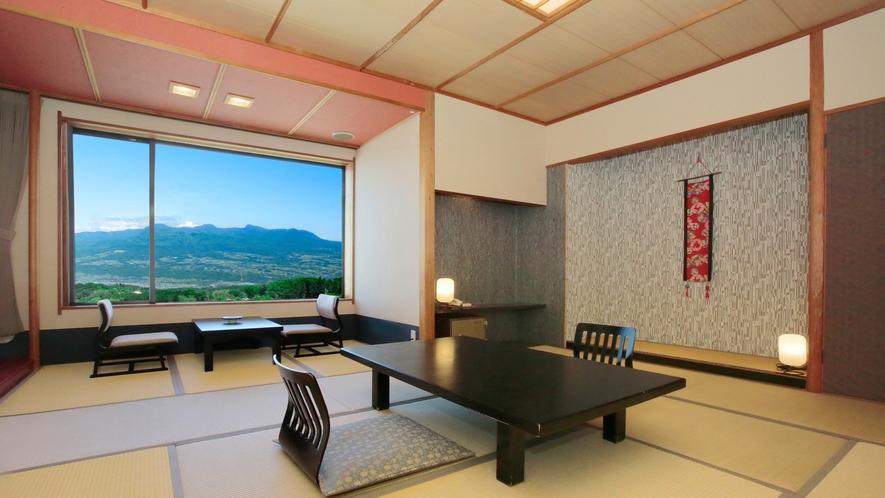 眺望客室トイレ付き・風呂有り(赤城山)