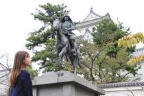 大垣城(ホテルより徒歩で約5分)