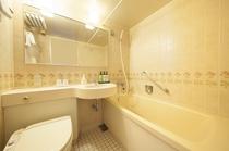 【バスルーム】シングル、ダブル