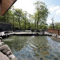 *露天風呂一例/自然と一体化するような、解放感たっぷりのロケーション!